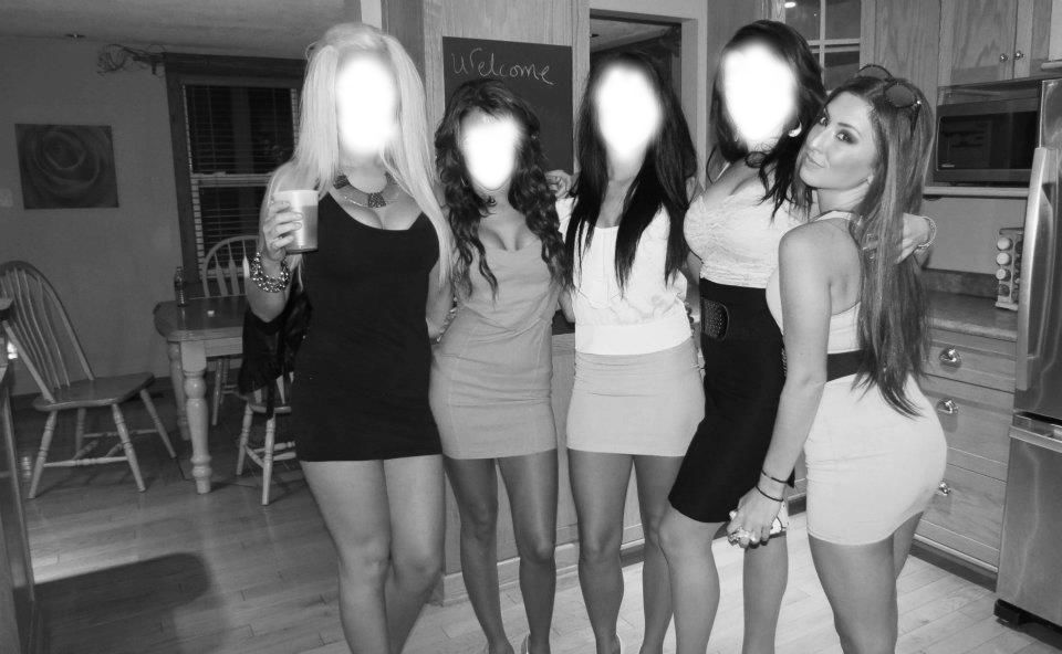 Sexy Becca with friends11 Mean Girls