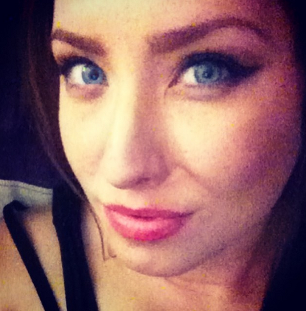 Sexy Becca closeup